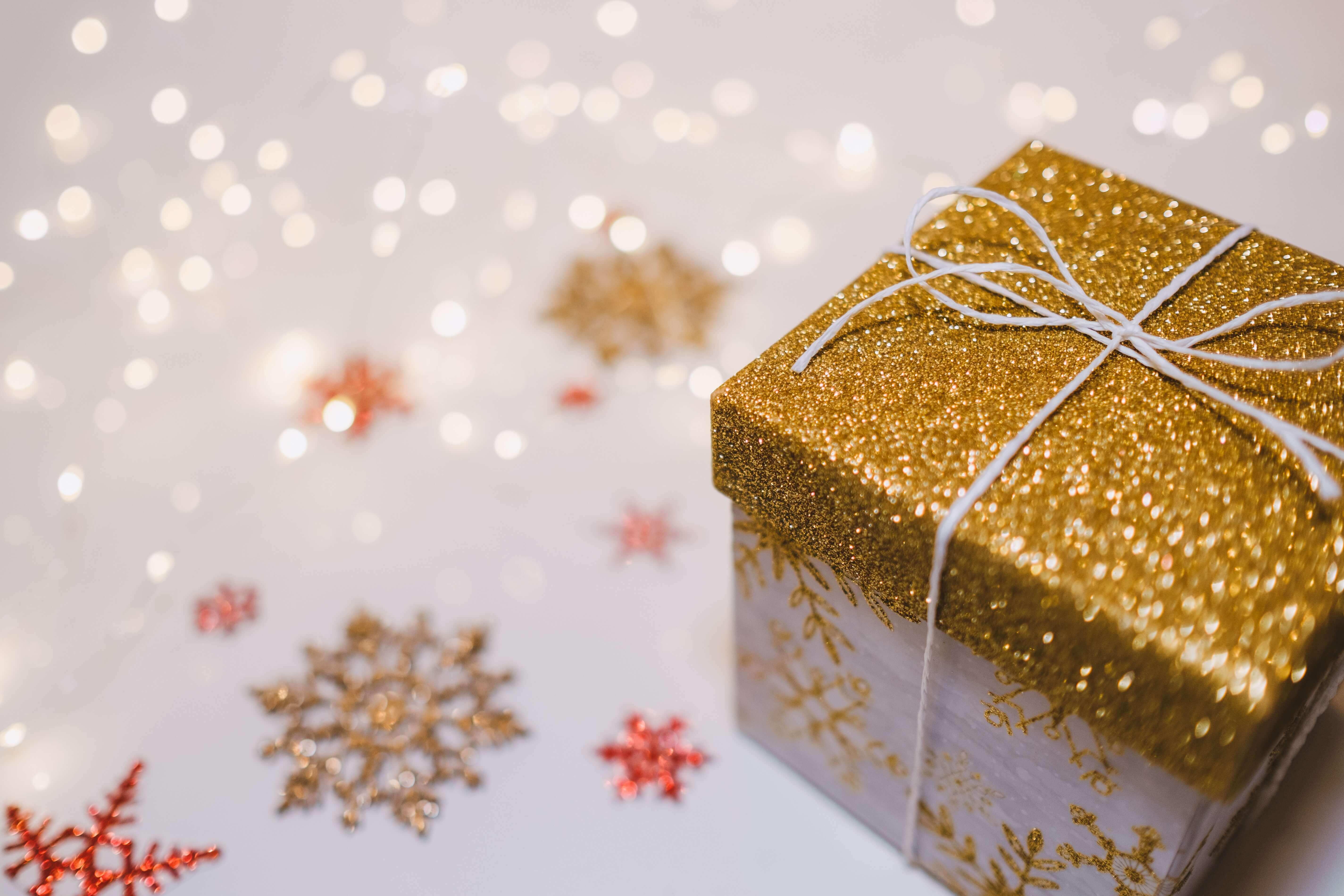 Piękne opakowanie prezentu